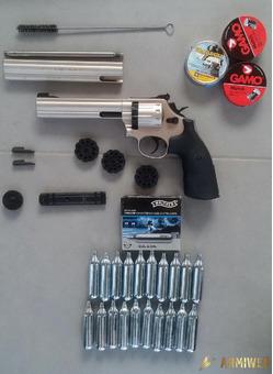 Smith&Wesson 686 umarex satinata cal. 4,5 (.177)