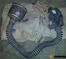 Maschera anti gas Ottica O.41 Regio Esercito II GM