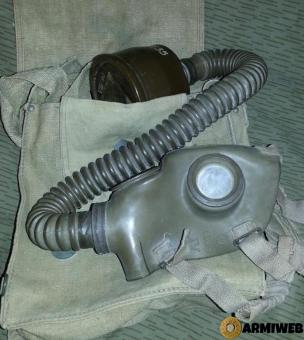 Maschera anti gas Ottica O.39 Regio Esercito II GM
